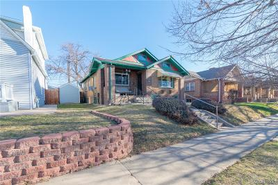 Denver Single Family Home Under Contract: 3165 West Clyde Place