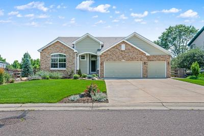 Erie Single Family Home Under Contract: 2202 Cottonwood Place