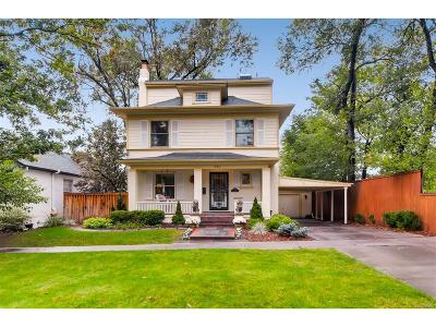Denver Single Family Home Active: 581 North Williams Street