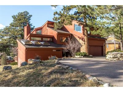 Golden Single Family Home Under Contract: 24877 Foothills Drive