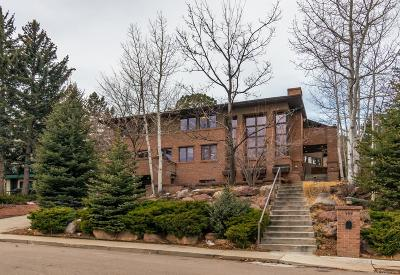 Boulder CO Single Family Home Active: $2,950,000