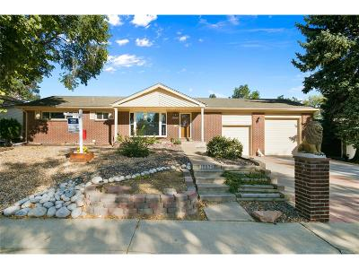 Northglenn Single Family Home Active: 10804 Kalamath Street