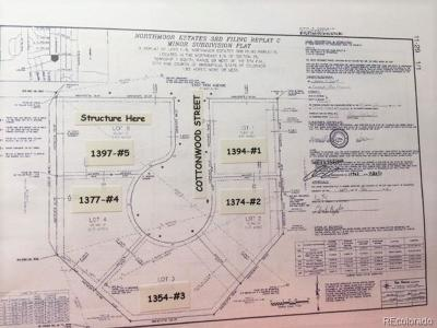 Broomfield Residential Lots & Land Under Contract: 1377 Cottonwood Street