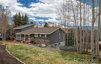 Steamboat Springs CO Single Family Home Under Contract: $950,000