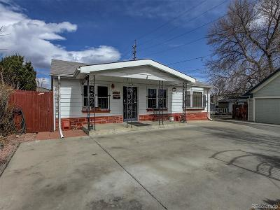 Denver Single Family Home Active: 3121 West 17th Avenue