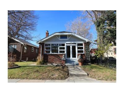 Denver Single Family Home Active: 165 South Downing Street