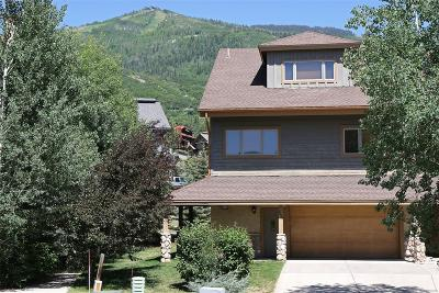 Steamboat Springs CO Condo/Townhouse Active: $1,150,000