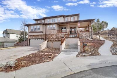 Castle Rock Single Family Home Under Contract: 3814 Sky Hawk Court