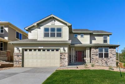Castle Rock Single Family Home Under Contract: 391 Sage Grouse Circle