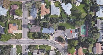 Denver Residential Lots & Land Active: 430 South Newport Way