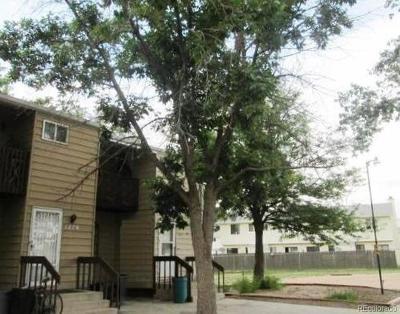 El Paso County Condo/Townhouse Active: 1274 Cree Drive
