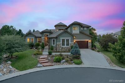 Castle Pines Single Family Home Active: 5769 Daniels Gate Place