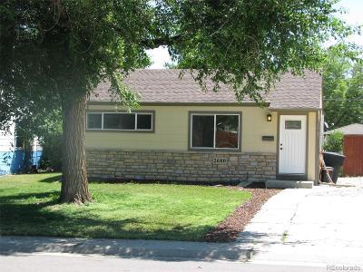 Denver Single Family Home Active: 2680 South Grove Street