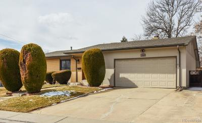 Arvada Single Family Home Under Contract: 5929 Taft Court