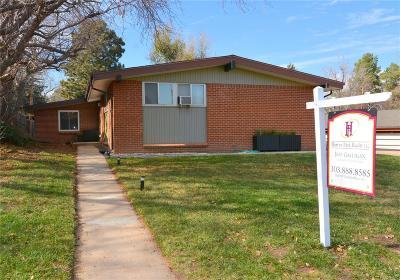 Denver Single Family Home Active: 2235 South Stuart Street