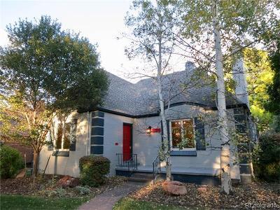Denver Single Family Home Active: 830 Monaco Parkway