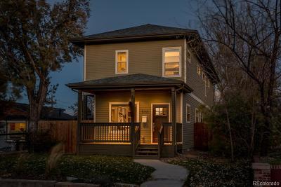 Denver Single Family Home Under Contract: 5180 Stuart Street