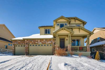 Castle Rock CO Single Family Home Under Contract: $490,000