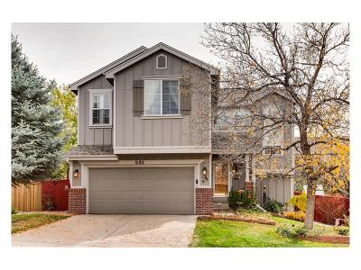 Highlands Ranch Single Family Home Active: 680 Timbervale Trail