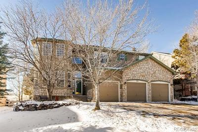 Castle Pines CO Single Family Home Under Contract: $600,000