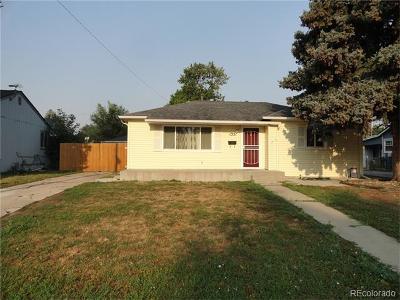 Denver Single Family Home Active: 1351 South Quitman Street