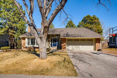 Centennial Single Family Home Under Contract: 8103 East Kettle Place