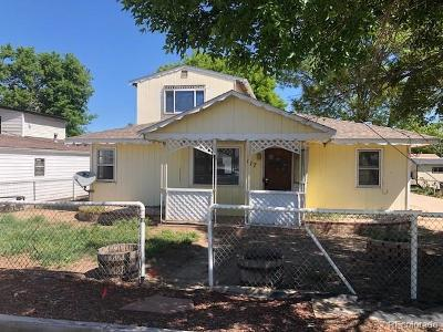 Gilcrest Single Family Home Active: 117 4th Street