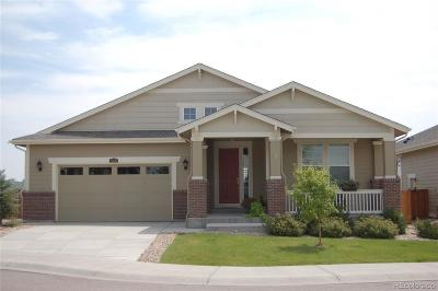 Castle Rock Single Family Home Under Contract: 2976 Red Bird Trail