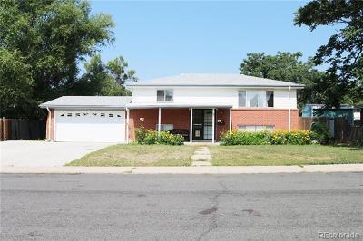 Northglenn Single Family Home Active: 9629 Lou Drive