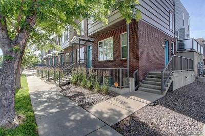 Denver CO Condo/Townhouse Active: $580,000