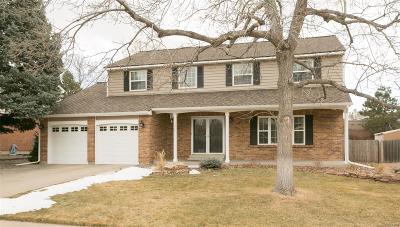 Centennial Single Family Home Active: 3818 East Phillips Circle
