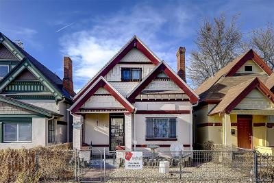 Denver Single Family Home Active: 3127 California Street