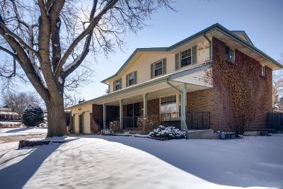 Denver Single Family Home Under Contract: 3781 South Eaton Street