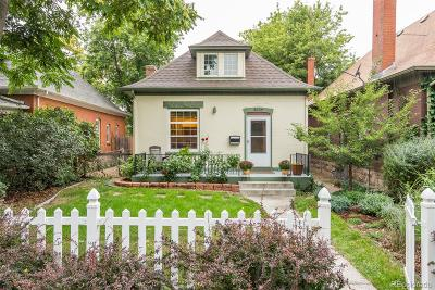Denver Single Family Home Active: 3059 North Gilpin Street