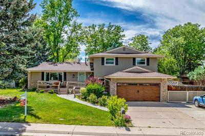 Centennial Single Family Home Active: 7375 South Downing Circle