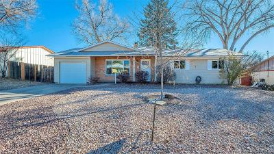 Colorado Springs Single Family Home Active: 1501 Rosemont Drive