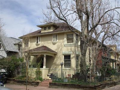 Denver Single Family Home Active: 1100 Washington Street