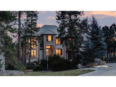 Castle Pines CO Single Family Home Under Contract: $1,237,000