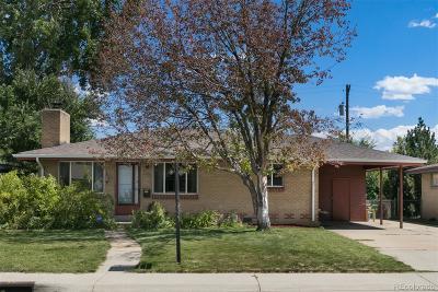 Wheat Ridge Single Family Home Under Contract: 4692 Estes Street