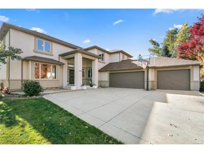 Broomfield Single Family Home Under Contract: 1509 Redwing Lane