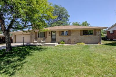 Centennial Single Family Home Active: 6512 South Sherman Street