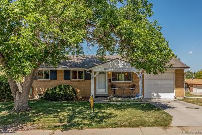 Denver Single Family Home Under Contract: 7765 Durango Street