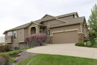 Castle Pines North Condo/Townhouse Under Contract: 7722 Bristolwood Drive