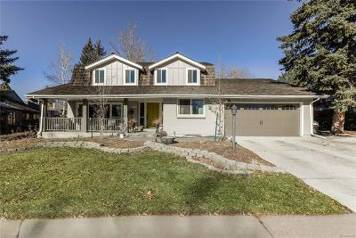 Centennial Single Family Home Under Contract: 6775 East Heritage Place