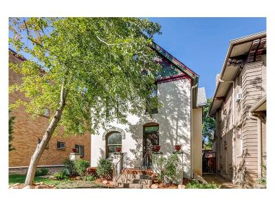 Single Family Home Under Contract: 1223 Columbine Street