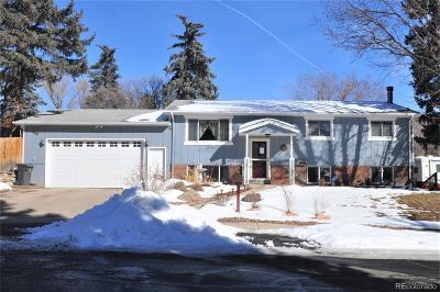 Castle Rock Single Family Home Under Contract: 300 Hillside Drive