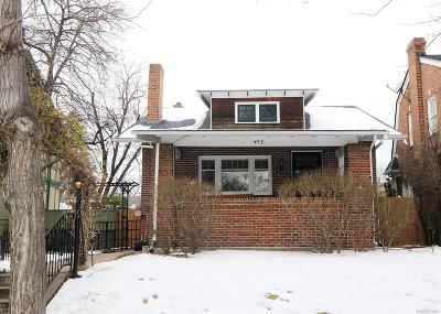 Single Family Home Under Contract: 415 North Franklin Street