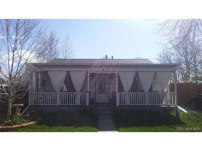 Denver Single Family Home Active: 2530 South Knox Court