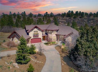 Castle Rock Single Family Home Active: 6361 Lost Canyon Ranch Road