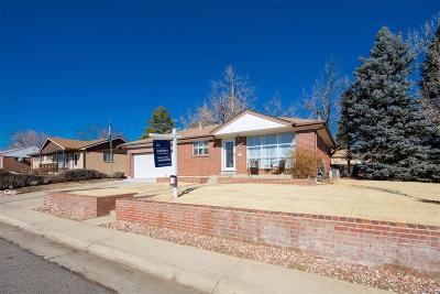 Northglenn Single Family Home Under Contract: 10783 Loren Lane